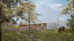 Mueller-Verdan-Architekten-Wettbewerb-Sporthalle-Staufen-1.Preis-Wettbewerbsvisualisierungen-morph-3D-Fassade