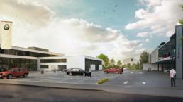 Proplaning-Architekten-BMW-Muttenz-Umbau-Erweiterung-morph-3D-Aussenvisualisierung