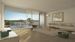 Überbauung-Wihalden-Mönchaltorf_wohnzimmer-visualisierung-architektur-3d-immobilien-rendering