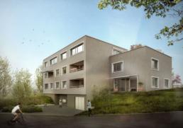 ERP-arch_Mehrfamilienhaus-Baldeggstrasse-Baden_morph-3D-Visualisierung-Aussen
