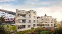 Rychener-Partner-Architektur-Neubau-MFH-Horgen-Exterior-3d-morph-visualisation