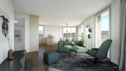 Rychener-Partner-Architektur-Neubau-MFH-Horgen-Fotorealistische-morph-3D-Agentur